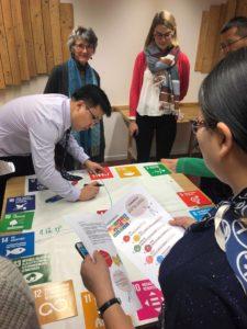 Présentation de cap2030 à une délégation chinoise, 28 novembre 2018